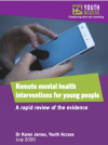 Remote mental health interventions for young people thumbnail image
