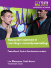 Young people's experience of counselling in community settings thumbnail image