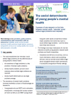The Social Determinants of Young People's Mental Health thumbnail image
